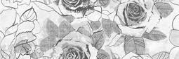 Декор для настенной плитки Cersanit Sonata многоцветная розы 20*60 см см