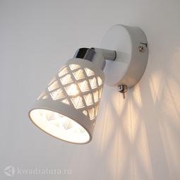 Настенный светильник (Бра) Eurosvet Snowy 20060/1 белый