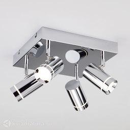 Потолочный светильник Eurosvet Stalk 20064/4 хром с LED диодом