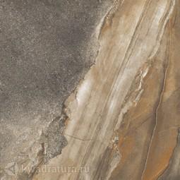 Керамогранит Kerranova Genesis темно-серый лаппатированный К-108/LR 60*60 см