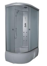 Душевая кабина AQUAPULSE 4306A L/R fabric white 120*80