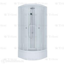 Душевая кабина Triton Рио 3 Стандарт-белый 90*90 см