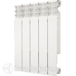 Радиатор алюминиевый 80/500 BIMETTA 5 секц. AL-500-5