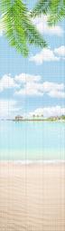 Стеновая панель ПВХ Оранда Бали Мозаика