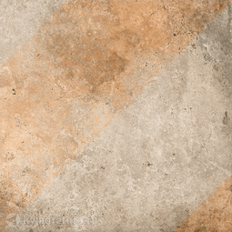 Декор для керамогранита Grasaro Tivoli Серый G-242/S/d02 40*40 см