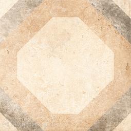 Декор для керамогранита Grasaro Tivoli Серый G-242/S/d03 40*40 см