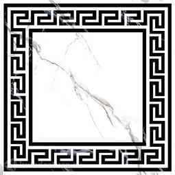 Декор-панно для керамогранита Grasaro Classic Marble G-270/G/d01 40*40 см