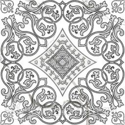 Декор-панно для керамогранита Grasaro Classic Marble G-270/G/d04 40*40 см
