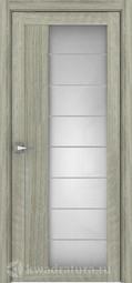 Межкомнатная дверь Дверной вопрос Life ПДО 2112 Велюр Серый