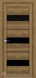 Межкомнатная дверь Дверной вопрос Life ПДО 2126ч Вельвет Орех