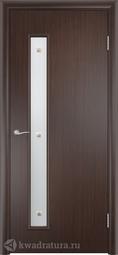 Финская дверь OLOVI Венге без притвора с фурнитурой со стеклом