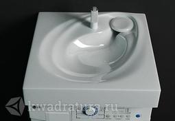 Раковина Raval Perla для стиральной машины 60см