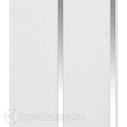 Потолочная панель 2-х секционная CronaPlast Серебро