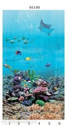 Стеновая панель ПВХ Panda Подводный Мир кораллы 01140