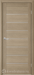 Межкомнатная дверь Фрегат (ALBERO) T-1 лиственница латте