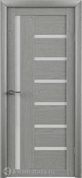 Межкомнатная Дверь Фрегат (ALBERO) T-3 ясень дымчатый