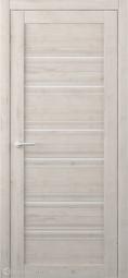 Межкомнатная дверь Фрегат (ALBERO) Техас Кремовый стекло белое