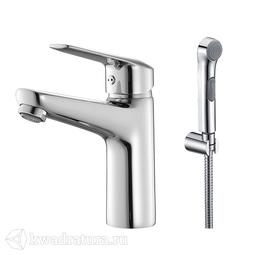 Смеситель для умывальника с гигиеническим душем Iddis Torr TORSB00i08