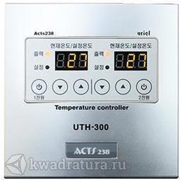 Терморегулятор двухканальный UTH-300 (2*3,5 кВт)