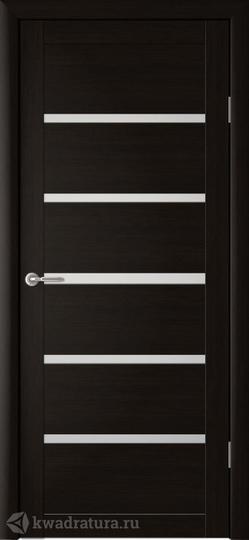 Межкомнатная дверь Фрегат (ALBERO) Вена с/о Кипарис Темный