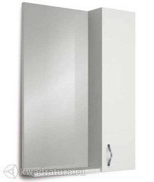 Зеркало-шкаф 1Marka Вита 65 Белый глянец