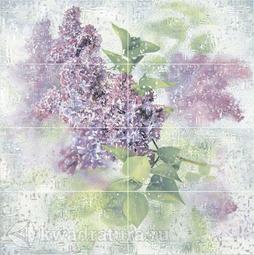 Панно для настенной плитки Alma Ceramica Sirio из 8-ми плиток PWU09SIR1 99,6*100 см