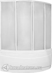 Шторка для ванны Bas Вектра (пластик Вотер, Космос)