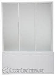 Шторка для ванны Bas Бриз/Верона/Ибица  (стекло Грейп,Шиншила)